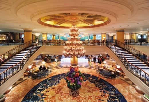The Main Lobby of Makati Shangri-la