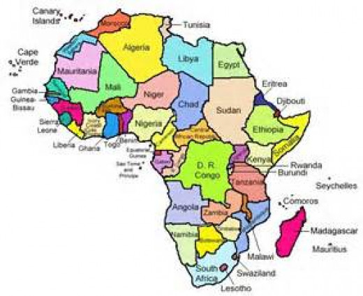 Land mass and Sovereignty as potential for economic growth in Africa