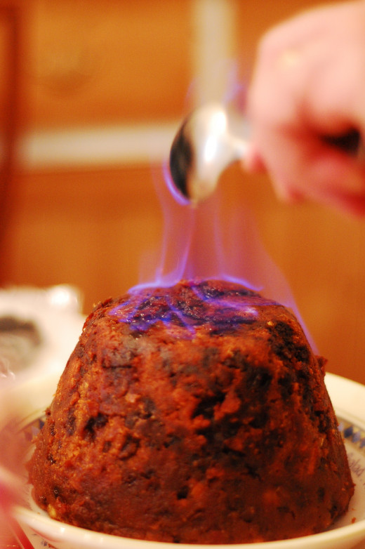 Christmas pudding can be an acquired taste!