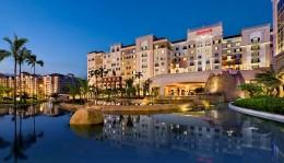 The Elegant Facade of Manila Marriott Hotel