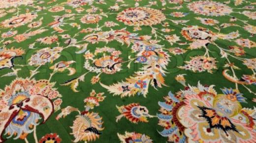 Iranian hand-woven rug