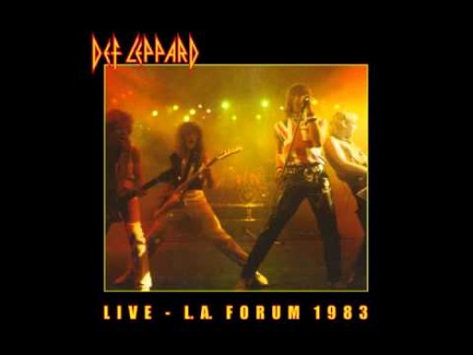 Def Leppard had preformed at the L. A. Forum in 1983, where they played a majority of Pyromania's hit songs, along with past hits from previous albums.