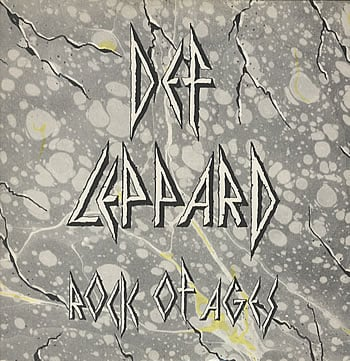 """Rock of Ages"" single cover."