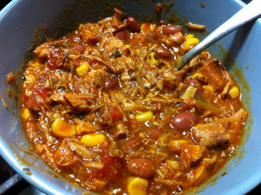 Incredible Leftover Turkey Chili