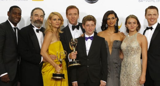 The cast of Homeland. Source: http://www.politico.com/story/2013/05/homeland-tracy-letts-92060.html
