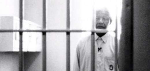 Nelson Mandela in the prison Robin Island