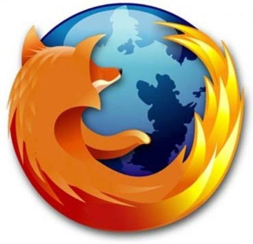 The Mozilla Firefox logo.