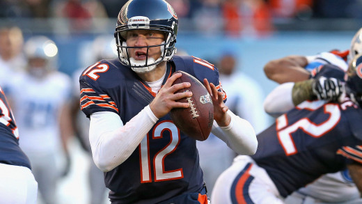 Bears quarterback Josh McCown looks to keep the Bears' playoff hopes alive