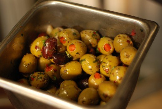 Even foods you mat not think of, such as olives can contain residual pesticides if not bought organically