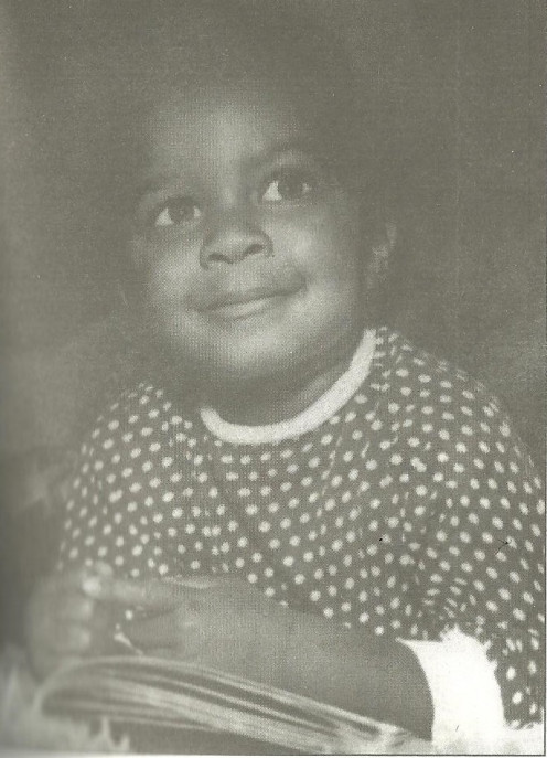 "Natalie ""Sweetie"" Cole at age four. Cole Family Archive"