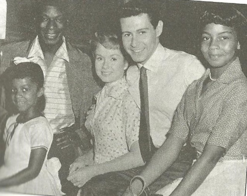 Eddie Fischer, Debbie Reynolds, Nat King Cole, Natalie Cole, And her Sister Cookie Michael OCHS Archive/Venice,CA