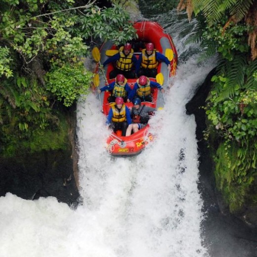 Shotover River Rafting