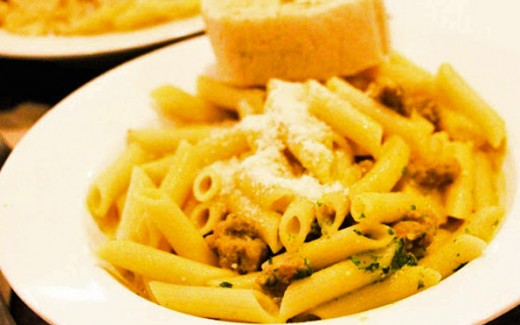 Current Pick for Best Pasta in Taft - Goodles!
