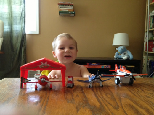 These are a few of my son's favorite Planes toys.
