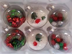 Beautiful & Unique Christmas Bulbs!!