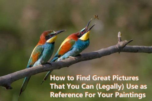 How to Find Pictures to Paint for Beginners