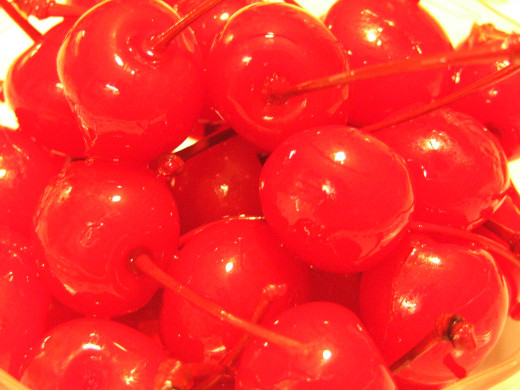 Fresh Maraschino Cherries