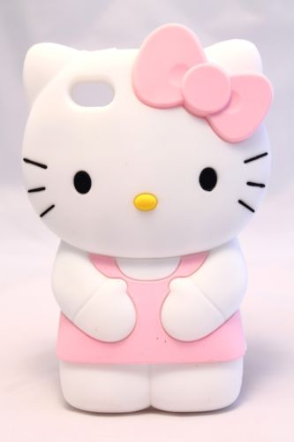 The Hello Kitty silicone 3D cover... ideal for  children and teenagers, especially girls