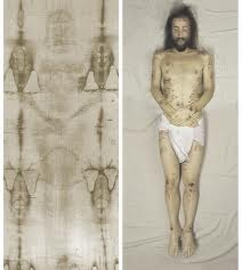 The Shroud of Turin is believed by many to be the actual burial cloth that Jesus was buried in. Scholars have studied the cloth for decades.