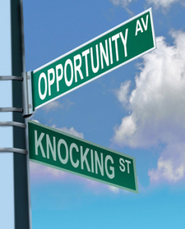 opportunity-knocking from DONNA C flickr.com