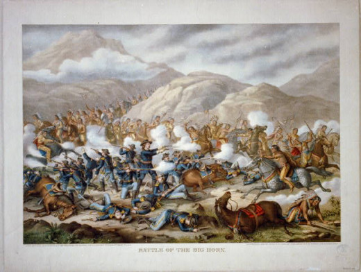 Battle of the Little Bighorn River