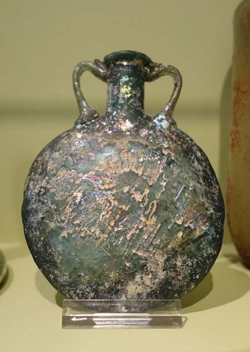 An Old Perfume Bottle
