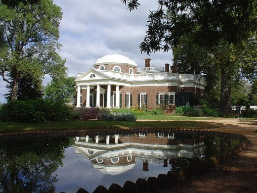 Monticello, the home of Thomas Jefferson, in Charlottesville, Virginia Photographer:  Matt Kozlowski