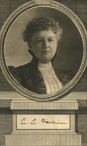 "Portrait of Constance Cary Harrison, c. 1898 Frontispiece ""The Well-bred Girl in Society"""