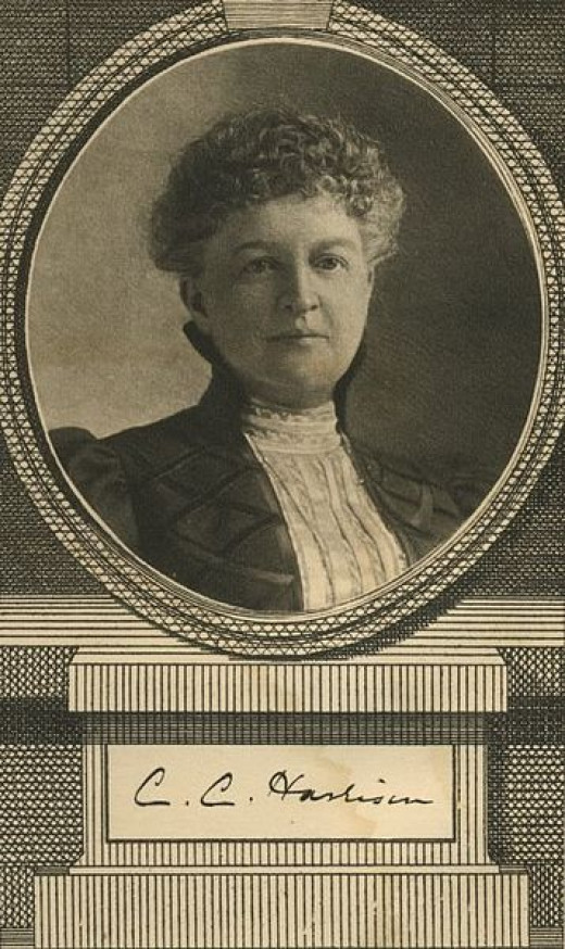"""Portrait of Constance Cary Harrison, c. 1898 Frontispiece """"The Well-bred Girl in Society"""""""
