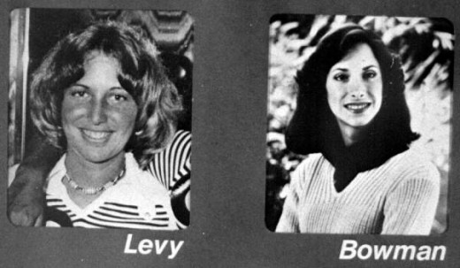 Lisa Levy and Margaret Bowman, victims of Ted Bundy, January 1978. Florida Memory Project