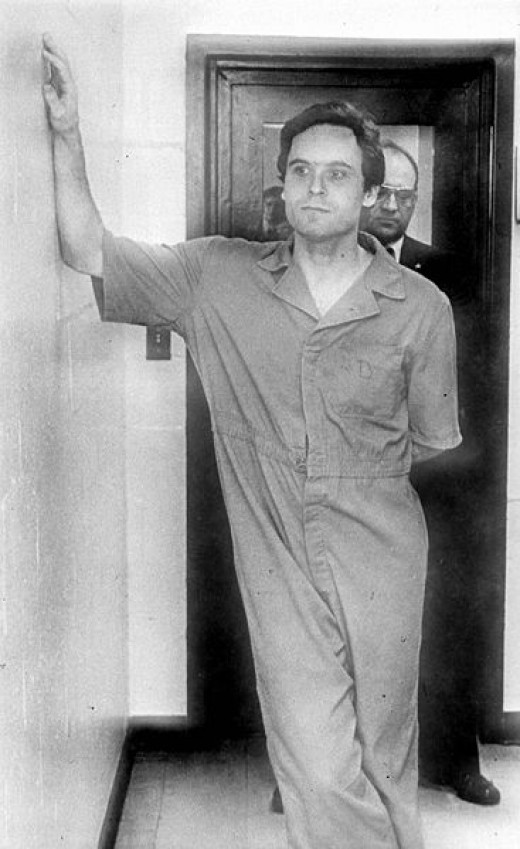 Ted Bundy in custody, Florida, July 1978. Florida Memory Project
