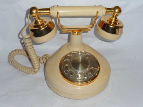 The Rotary Phone With Cord.