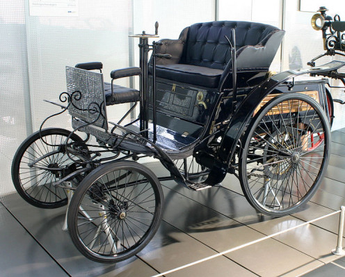 "Benz ""Velo"" model (1894) by German inventor"