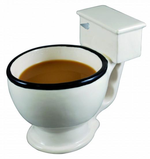 It's a Toilet Mug!