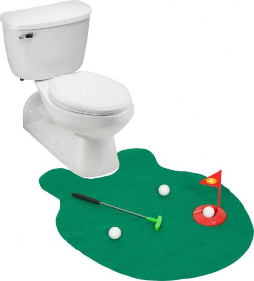 A Game of Potty Golf!