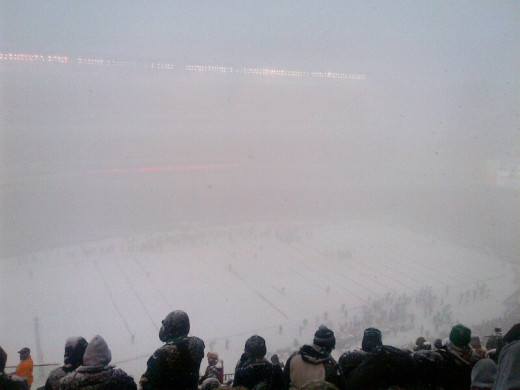 The actual view from my seats in Lincoln Financial Field on Sunday.