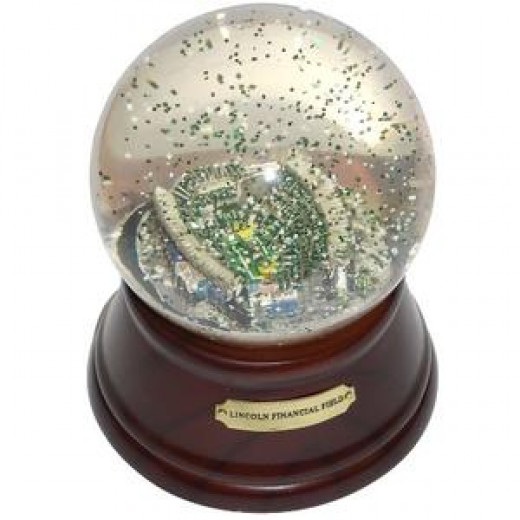 The Lincoln Financial Field Snowglobe
