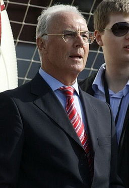 Franz Beckenbauer - probably the most successful player and manager ever