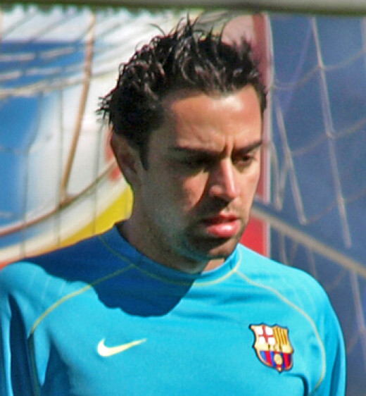 Barcelona's Xavi ia a one-club man