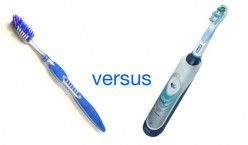 Do you use an electric or a manual toothbrush?