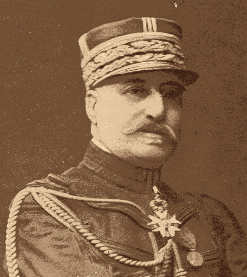 General Noel de Castelnau, member of the Superior Council of the Committee of Staff, Commander of the Legion of Honour. A tactician whose reputation extended beyond France.