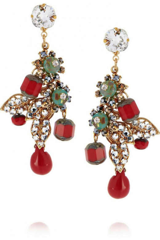 Bijoux Heart's 'Dragon' earrings