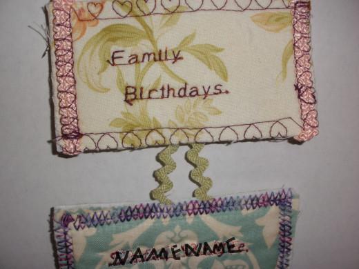 How to Make a Family Birthday Calendar