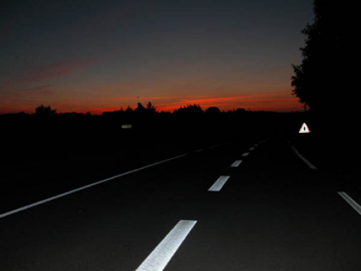 Alone on the Highway