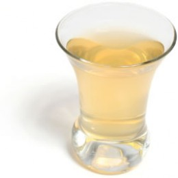Shot of Apple Cider Vinegar with Water , I prefer it with juice much tastier