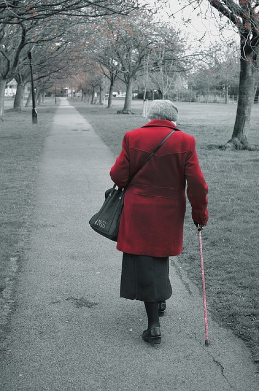 """Any act of kindness is always appreciated by the elderly - even a cheerful """"How are you."""""""