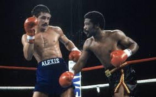 Aaron Pryor knocked out Alexis Arguello twice in Jr. Welterweight title bouts.