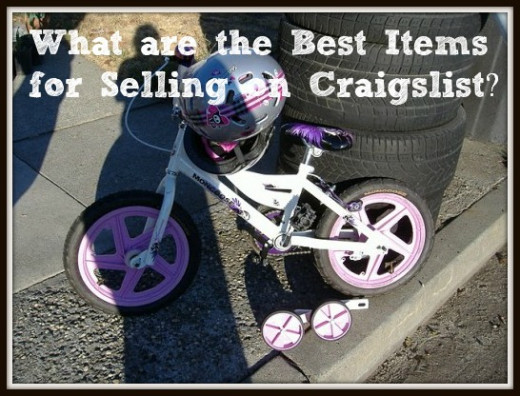 Find out what the best items are to sell on Craigslist. It might not be what you thought!