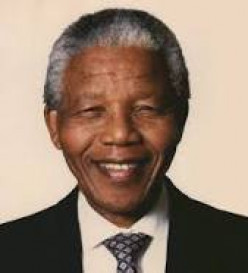 Great Humility In Nelson Mandela (P)