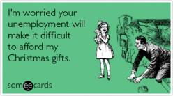 I am broke for Christmas